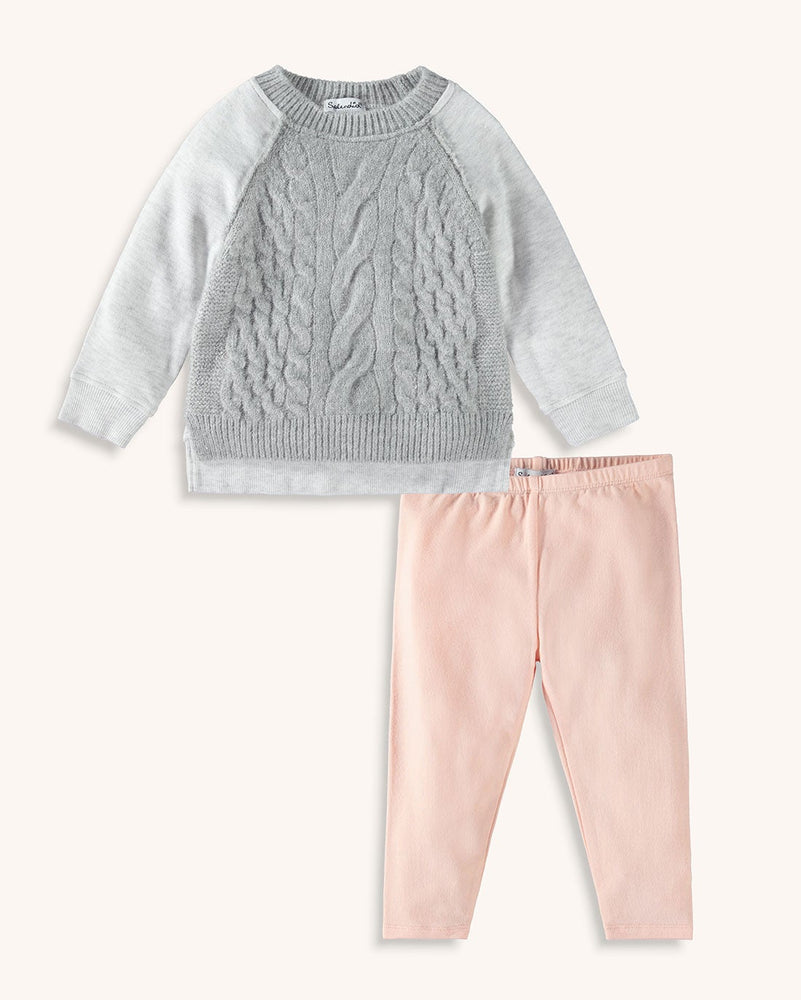 Splendid - Baby Girl Fleece Top Set