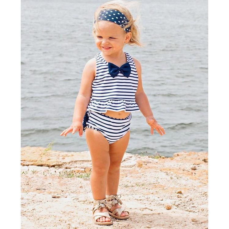 Ruffle Butts, Girl - Swimwear,  Girls Peplum Tankini