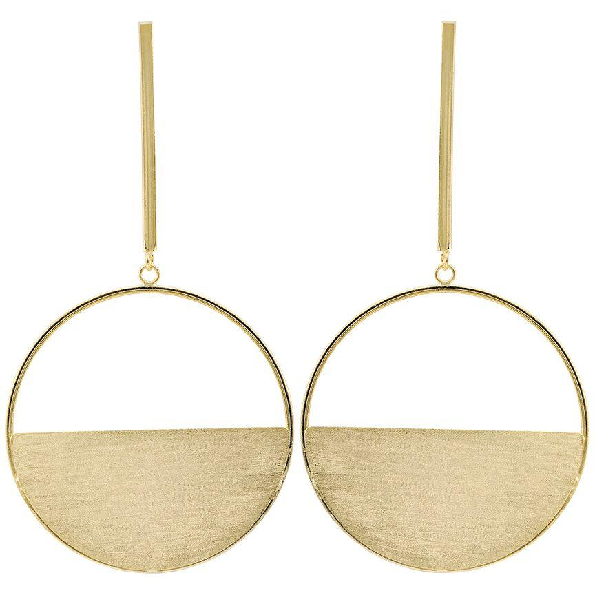 Avalon Earrings 18K Gold Plated