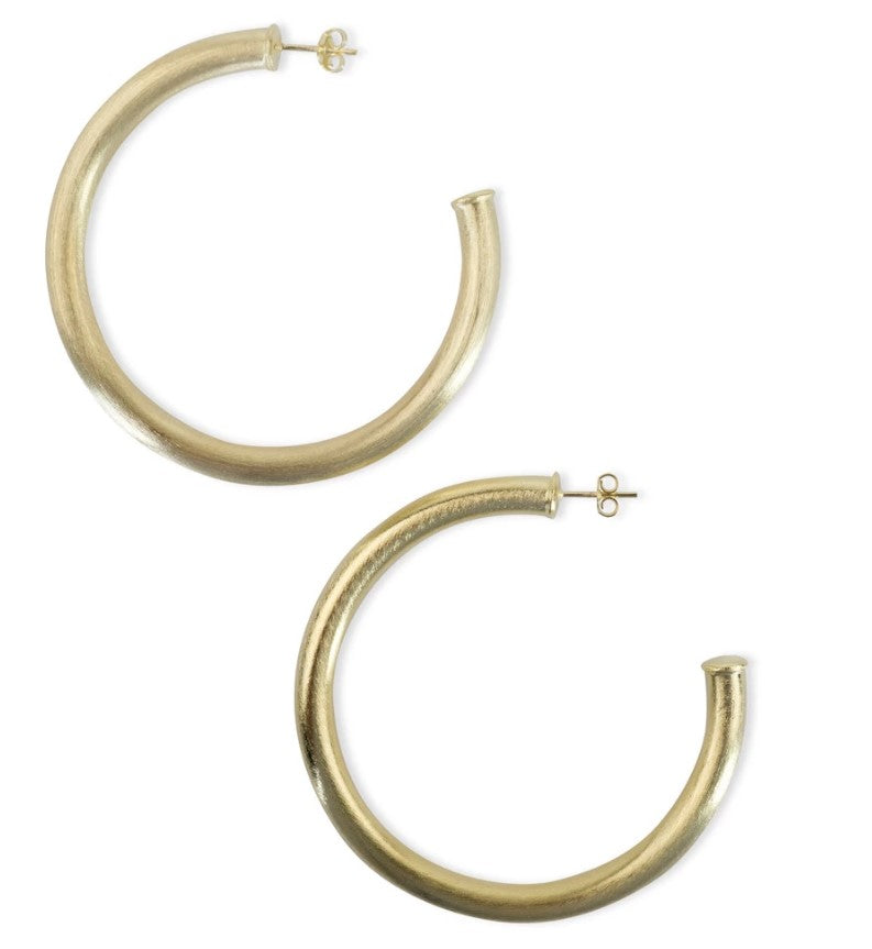 Sheila Fajl - Arlene Thick Large Hoop Earrings