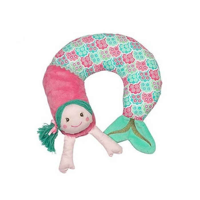 Shellie the Mermaid Travel Pillow