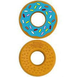 Silli Chews Blue Donut Teether-Baby - Teethers-Silli Chews-Eden Lifestyle