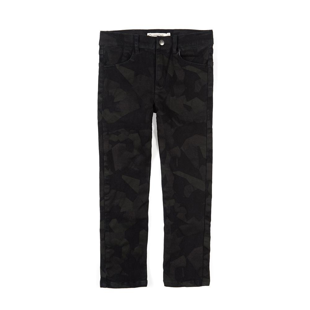 Appaman Skinny Twill Pant-Boy - Pants-Appaman-Midnight Camo-4T-Eden Lifestyle