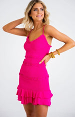 Karlie, Women - Dresses,  Havana Nights Smocked Dress