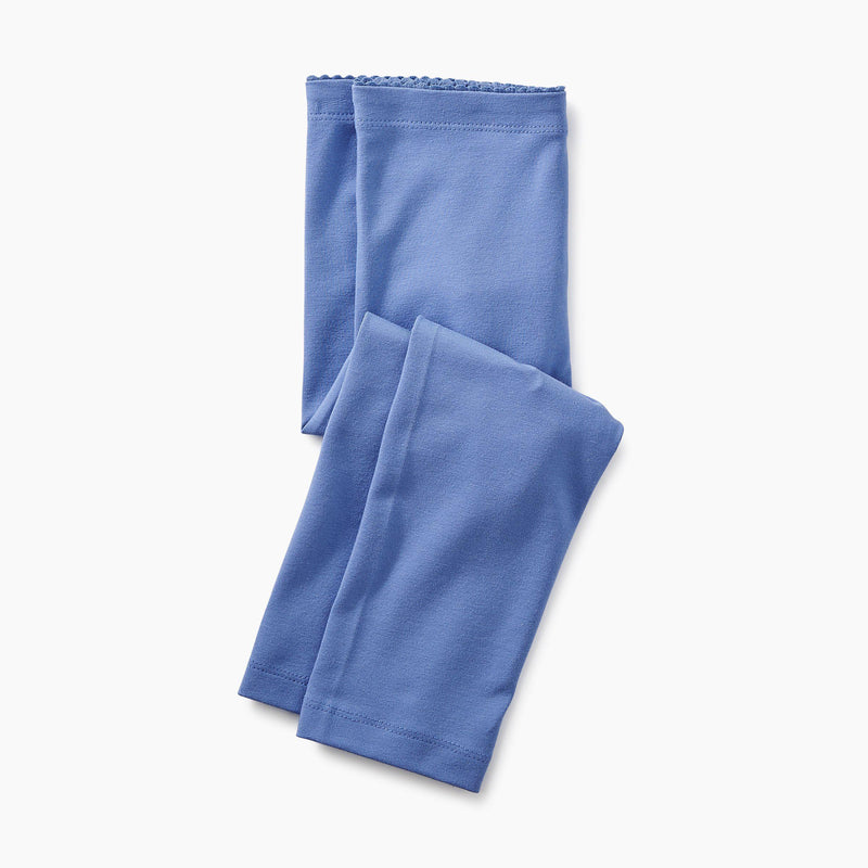 Tea, Leggings, Eden Lifestyle, Solid Capri Leggings - Blue