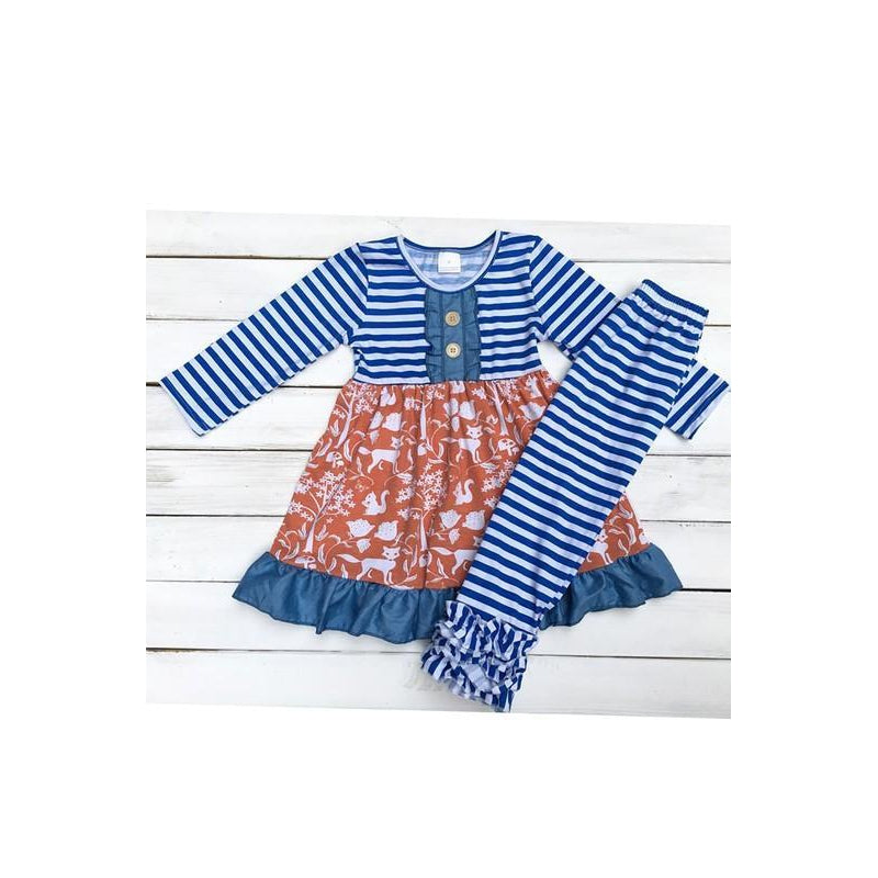 Sophie Girls Set-Baby Girl Apparel - Outfit Sets-Eden Lifestyle-2T-Eden Lifestyle