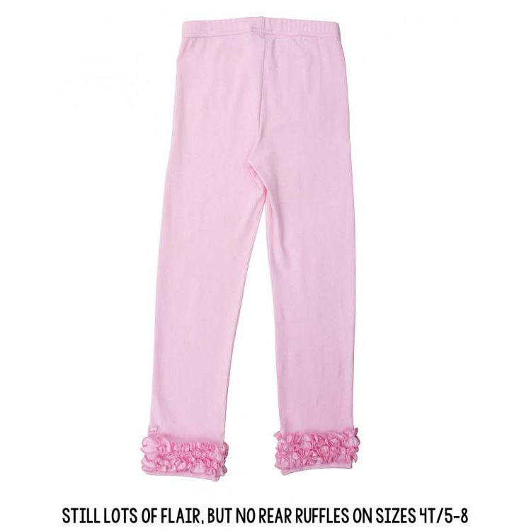 Pink Ruffle Leggings-Girl - Leggings-Ruffle Butts-2T-Eden Lifestyle