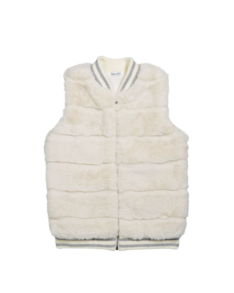 Splendid, Girl - Outerwear,  Splendid Fur Vest