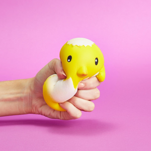 Spring Chick Marshmallow Squeeze Toy
