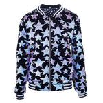 Lola + the Boys Starry Night Velvet Bomber
