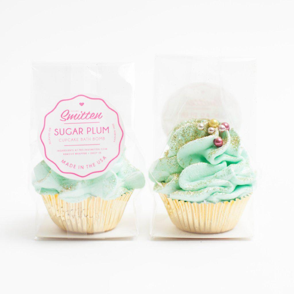 Mini Sugar Plum Cupcake Gifts - Bath Bombs-Gifts - Bath Bombs-Eden Lifestyle-Eden Lifestyle