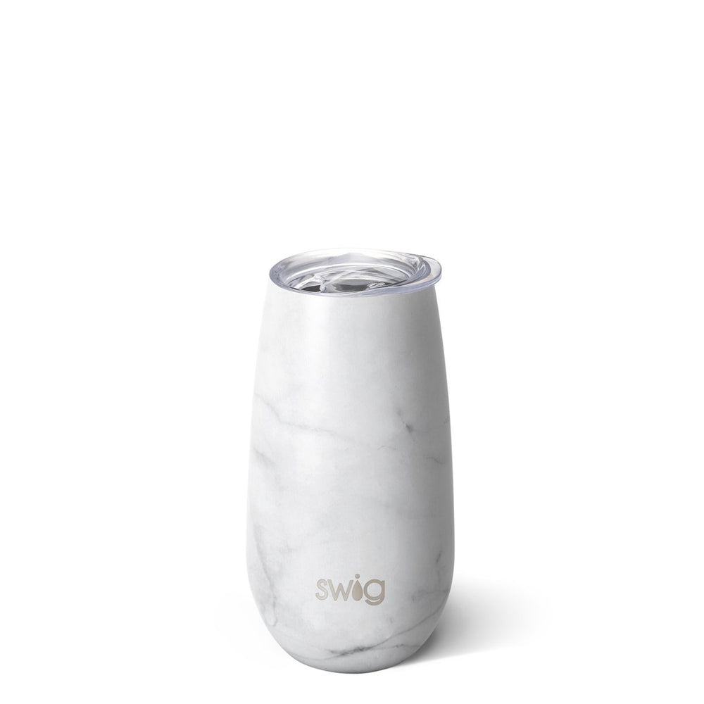 Swig, Home - Drinkware,  Swig Matte Marble Stemless Flute (6oz)