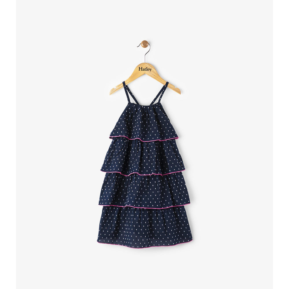 Hatley, Girl - Dresses,  Hatley Swiss Dot Solstice Layered Dress