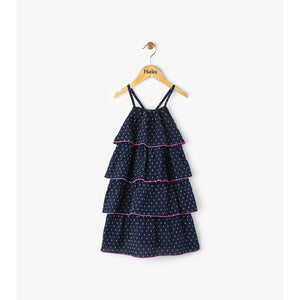 Hatley Swiss Dot Solstice Layered Dress-Girl - Dresses-Hatley-2-Eden Lifestyle