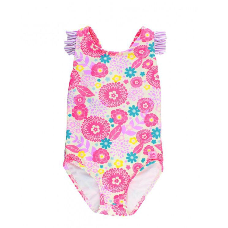 Ruffle Butts, Swimsuit,  Blooming Buttercup Ruffle Strap