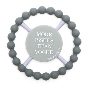 Bella Tunno Happy Teether-Baby - Teethers-Bella Tunno-More Issues than Vogue-Eden Lifestyle