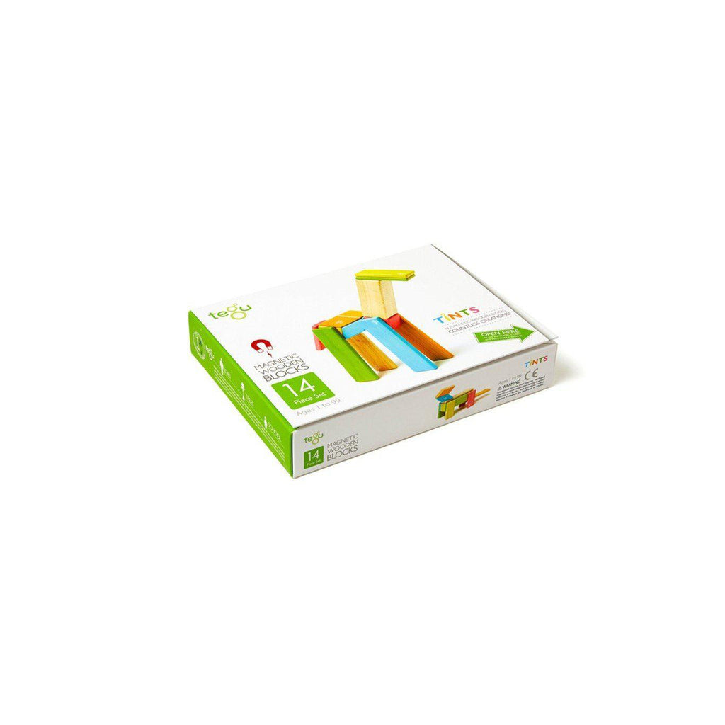 Tegu Magnetic Wooden Blocks - 14 Piece Set-Gifts - Toys-Tegu-Eden Lifestyle