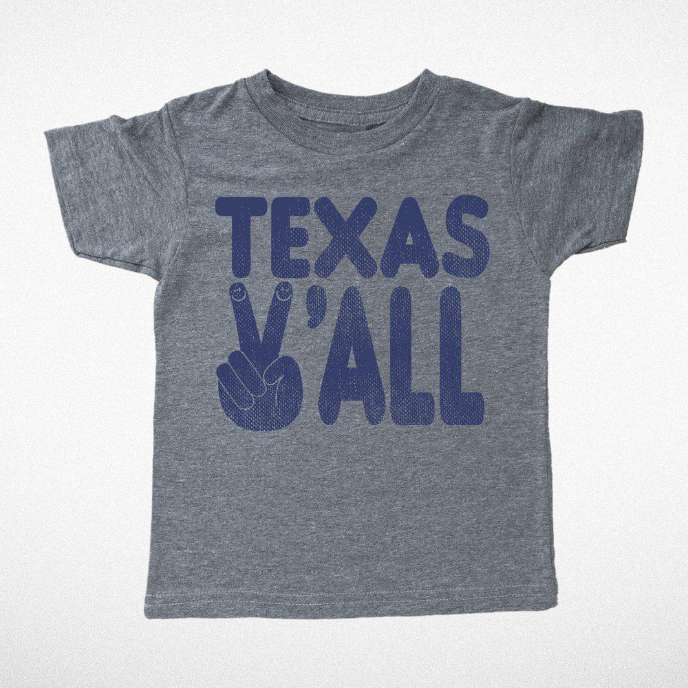 Tiny Whales, Baby Boy Apparel - Tees,  Texas Y'all Tee