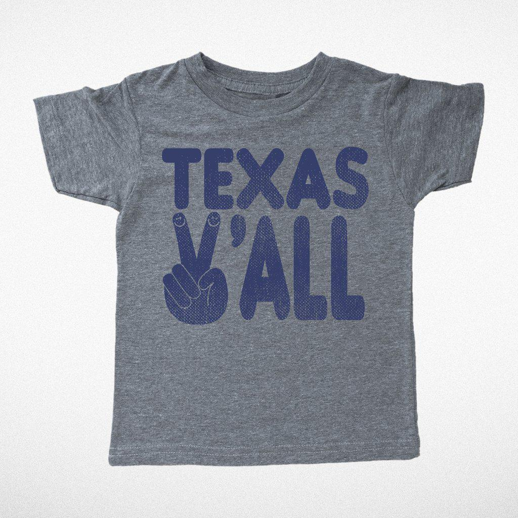 Texas Y'all Tee-Baby Boy Apparel - Tees-Tiny Whales-6-12M-Eden Lifestyle