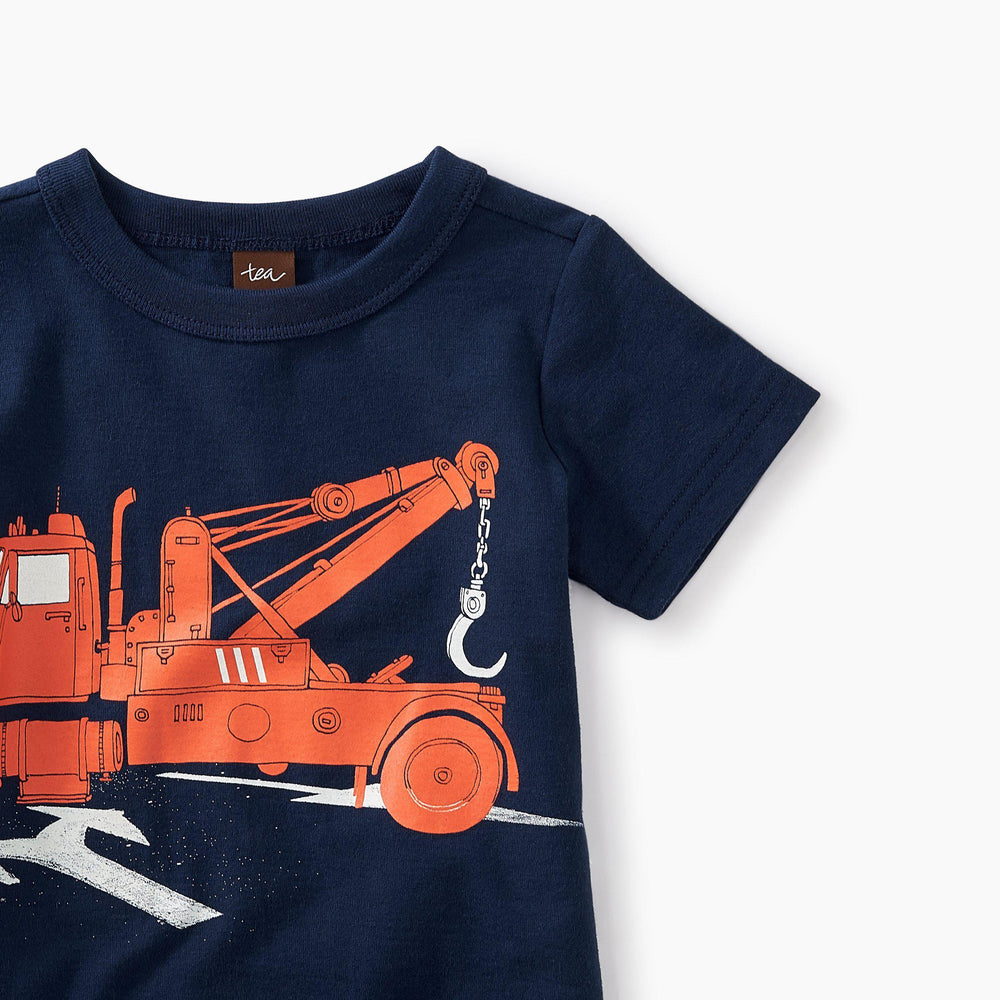 Tow Truck Graphic Baby Tee-Baby Boy Apparel - Tees-Tea Collection-3-6M-Eden Lifestyle