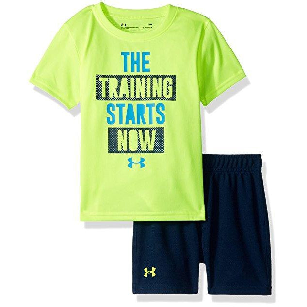 Training Starts Now Set-Boy - Shirts-Under Armour-12M-Eden Lifestyle