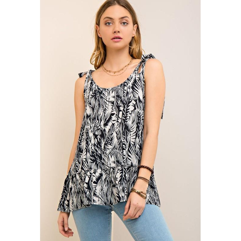 Tropical Vibes Tank-Women - Shirts & Tops-Eden Lifestyle-Small-Eden Lifestyle
