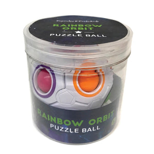 Rainbow Orbit Puzzle Ball