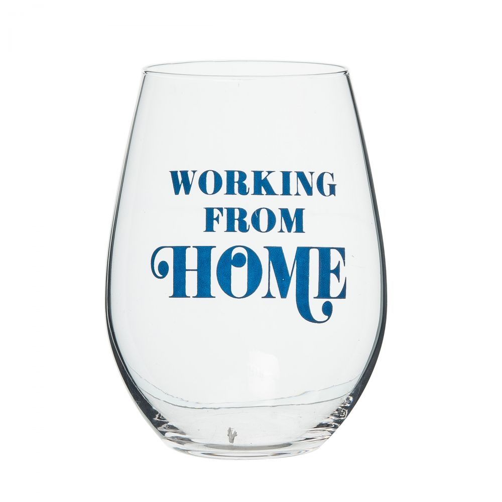 Working from Home Wine Glass - Eden Lifestyle