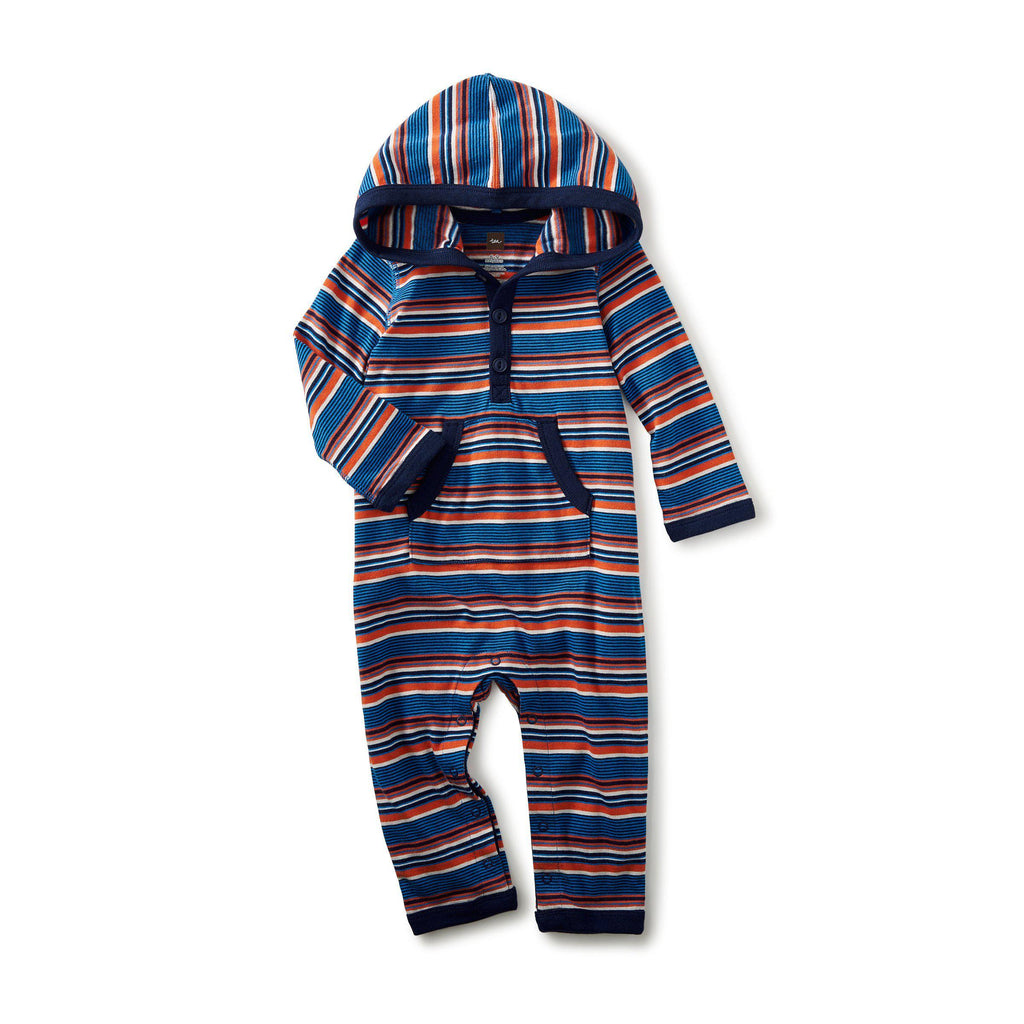 Ugie Hooded Romper-Baby Boy Apparel - Rompers-Tea Collection-0-3M-Eden Lifestyle