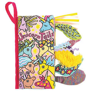 Jellycat Unicorn Tails Soft Book-Books-Jellycat-Eden Lifestyle