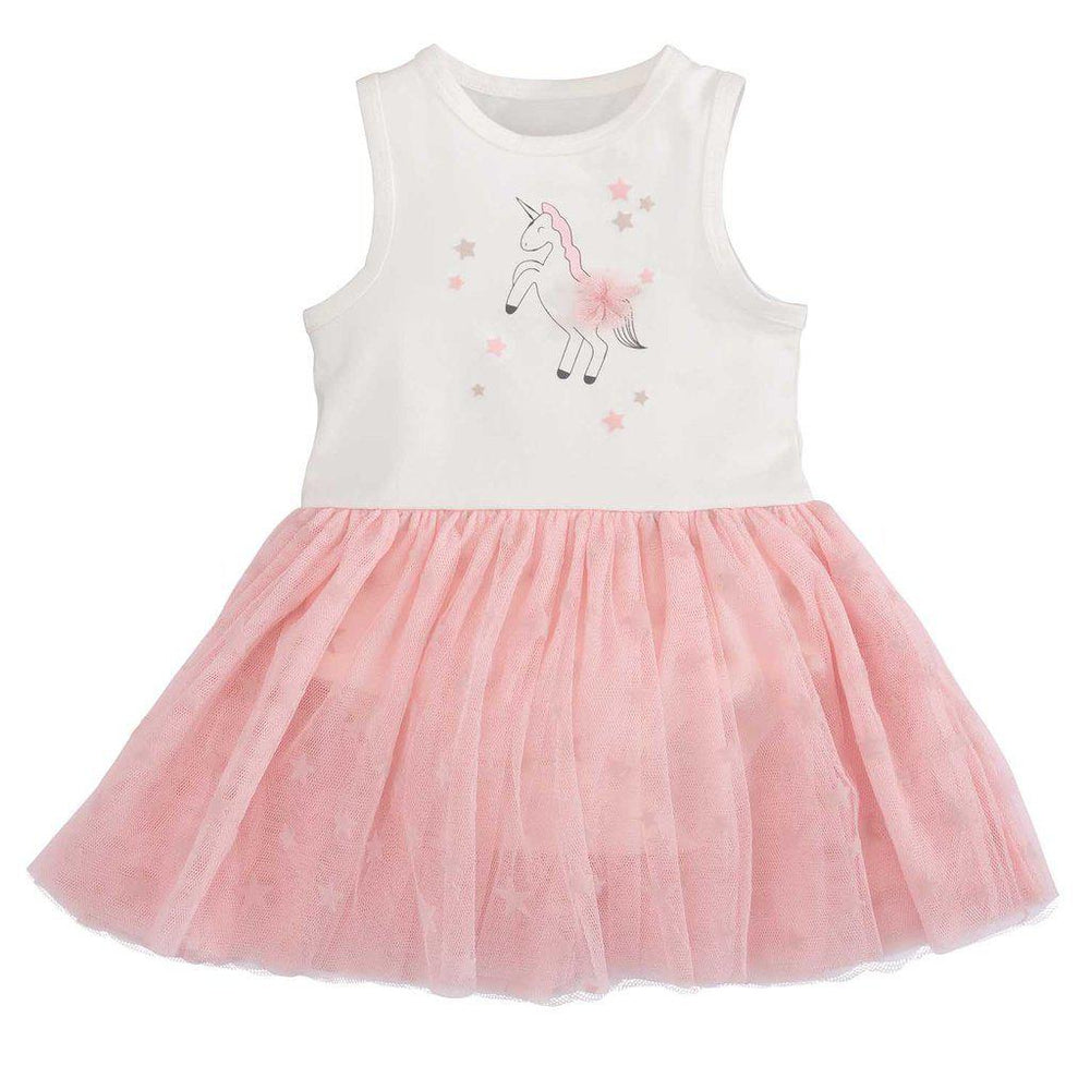 Elegant Baby, Baby Girl Apparel - Dresses,  Unicorn Tulle Dress