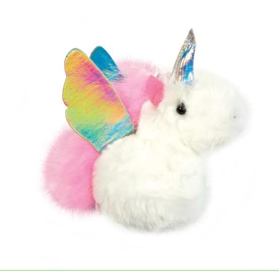 Unicorn Furry Pom Pom Clip-Gifts - Kids Misc-Iscream-Eden Lifestyle