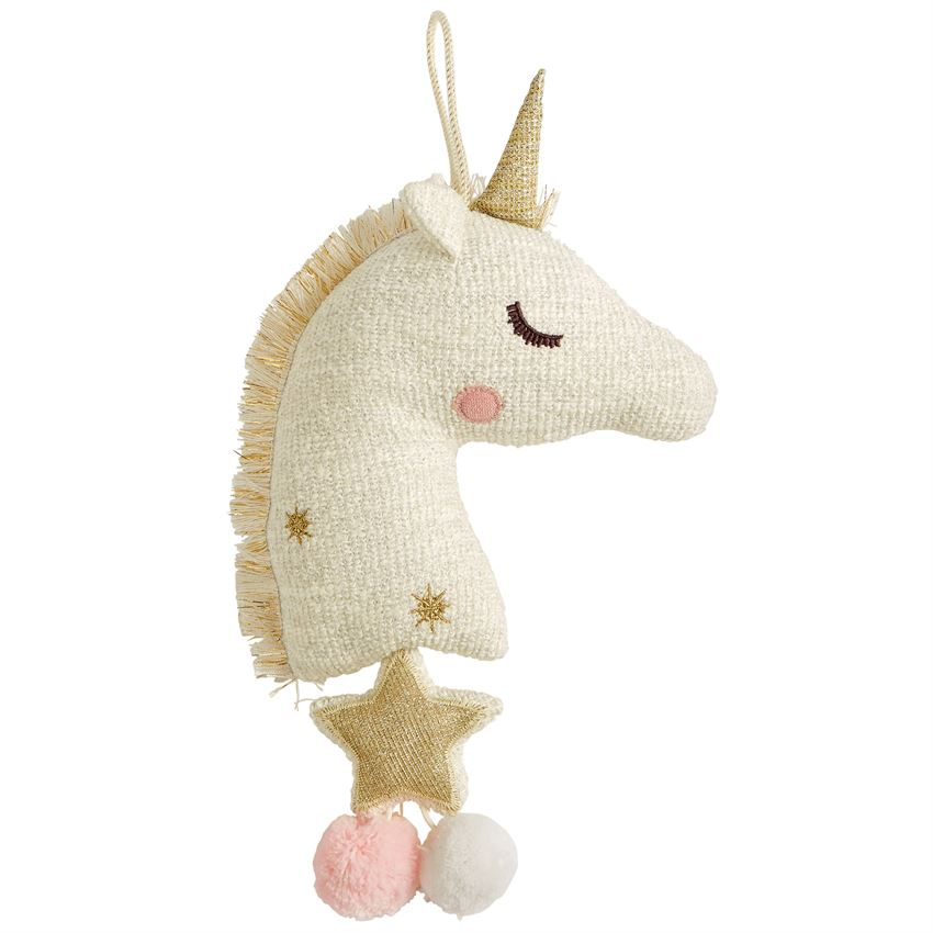 Golden Unicorn Musical Pull-Baby - Nursery Organization-Mud Pie-Eden Lifestyle