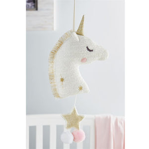 Mud Pie, Baby - Nursery Organization,  Golden Unicorn Musical Pull