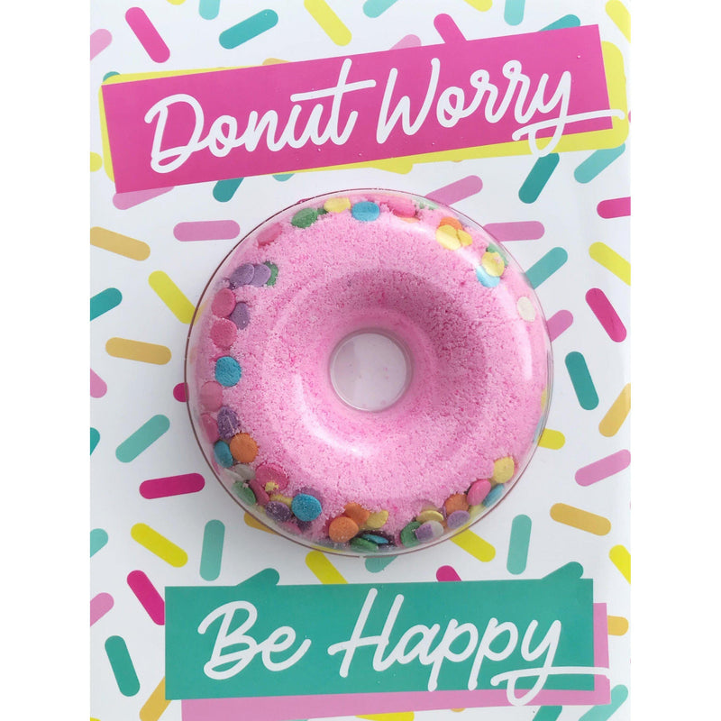 Donut Worry Bath Fizz Card