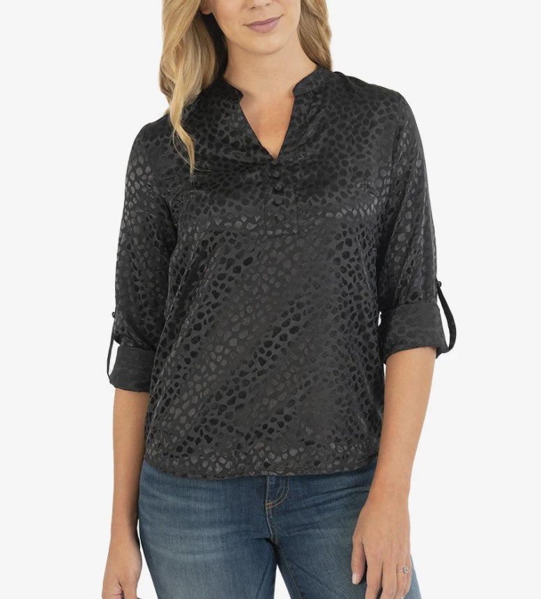 KUT from the Kloth, Women - Shirts & Tops,  KUT from the Kloth VALENCIA BLOUSE (BLACK)