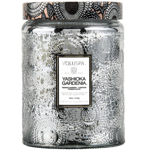 Voluspa, Home - Candles,  Voluspa - Yoshioka Gardenia - Large Jar Candle