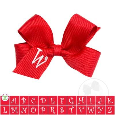 Image of Wee Ones, Accessories, Eden Lifestyle, Wee Ones Monogram Bow
