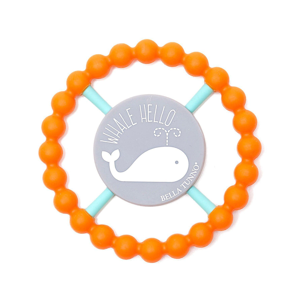 Bella Tunno Happy Teether-Baby - Teethers-Bella Tunno-Whale Hello-Eden Lifestyle