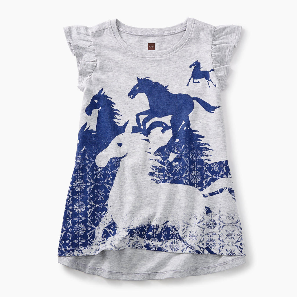 Tea, Tops, Eden Lifestyle, Wild Horses Twirl Top