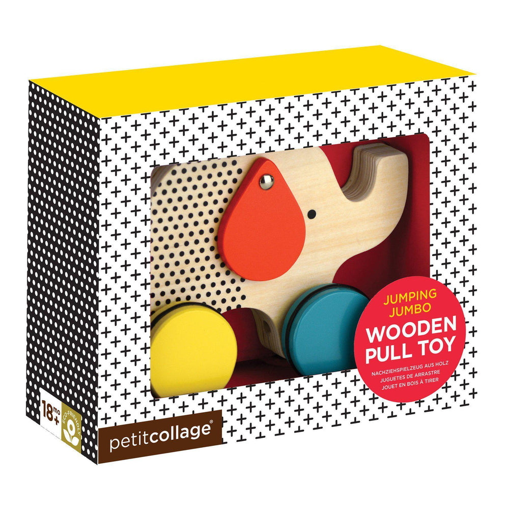Wooden Pull Toy-Gifts - Kids Misc-Petitcollage-Eden Lifestyle