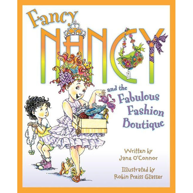 Fancy Nancy and the Fabulous Fashion Boutique-Book-Harper Collins-Eden Lifestyle