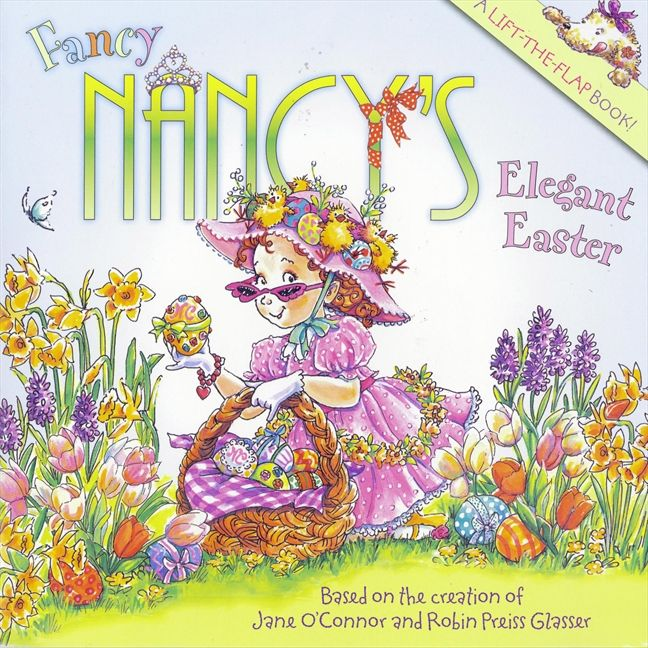 Fancy Nancy's Elegant Easter-Book-Harper Collins-Eden Lifestyle