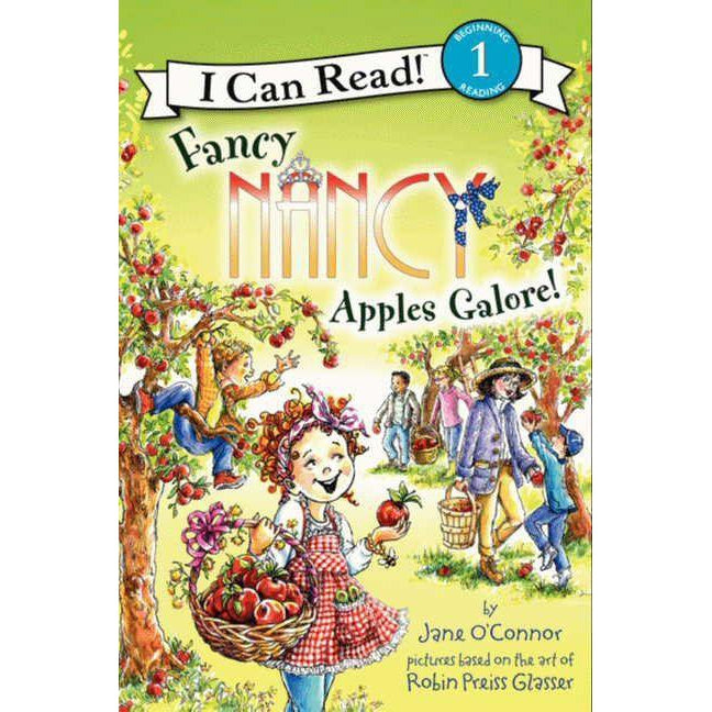 Fancy Nancy: Apples Galore!-Book-Eden Lifestyle-Eden Lifestyle