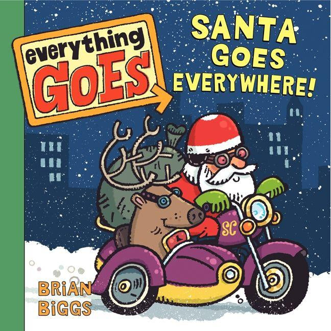 Everything Goes: Santa Goes Everywhere!-Books-Harper Collins-Eden Lifestyle
