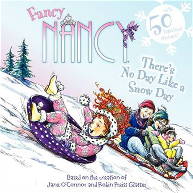 Fancy Nancy There's No Day Like a Snow Day-Books-Harper Collins-Eden Lifestyle