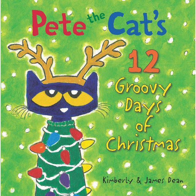 Harper Collins, Books,  Pete the Cat's 12 Groovy Days of Christmas