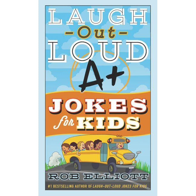 Laugh-Out-Loud A+ Jokes for Kids-Book-Harper Collins-Eden Lifestyle