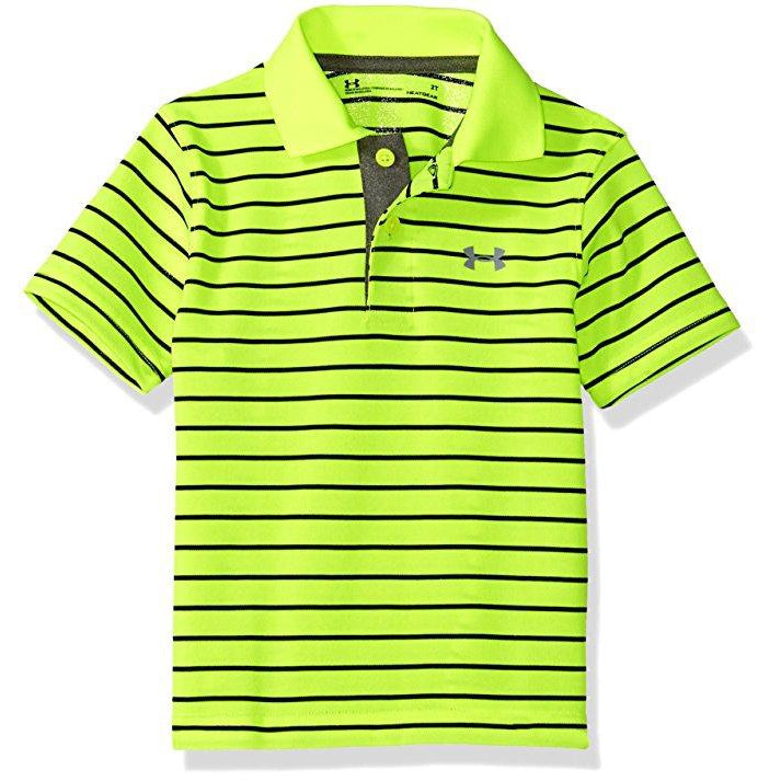 Playoff Stripe Polo-Boy - Shirts-Under Armour-2T-Eden Lifestyle