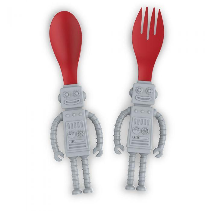 Fred & Friends, Gifts, Eden Lifestyle, Yum Bots Fork & Spoon